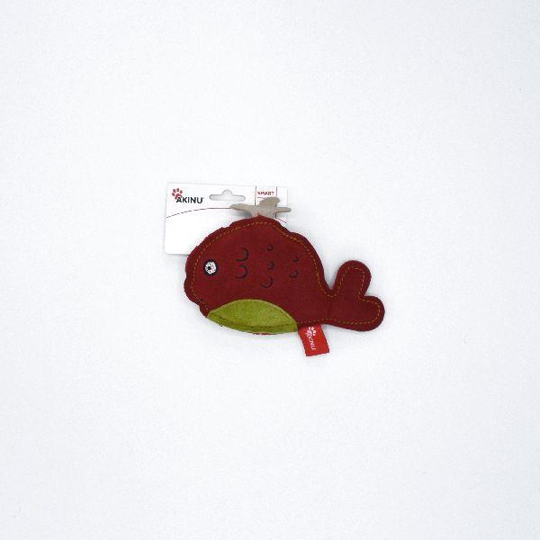 Akinu hračka velryba PREMIUM kůže