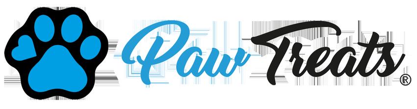 Paw-Treats logo průhledné