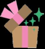 Ilustrace dárek