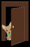Ilustrace dveře