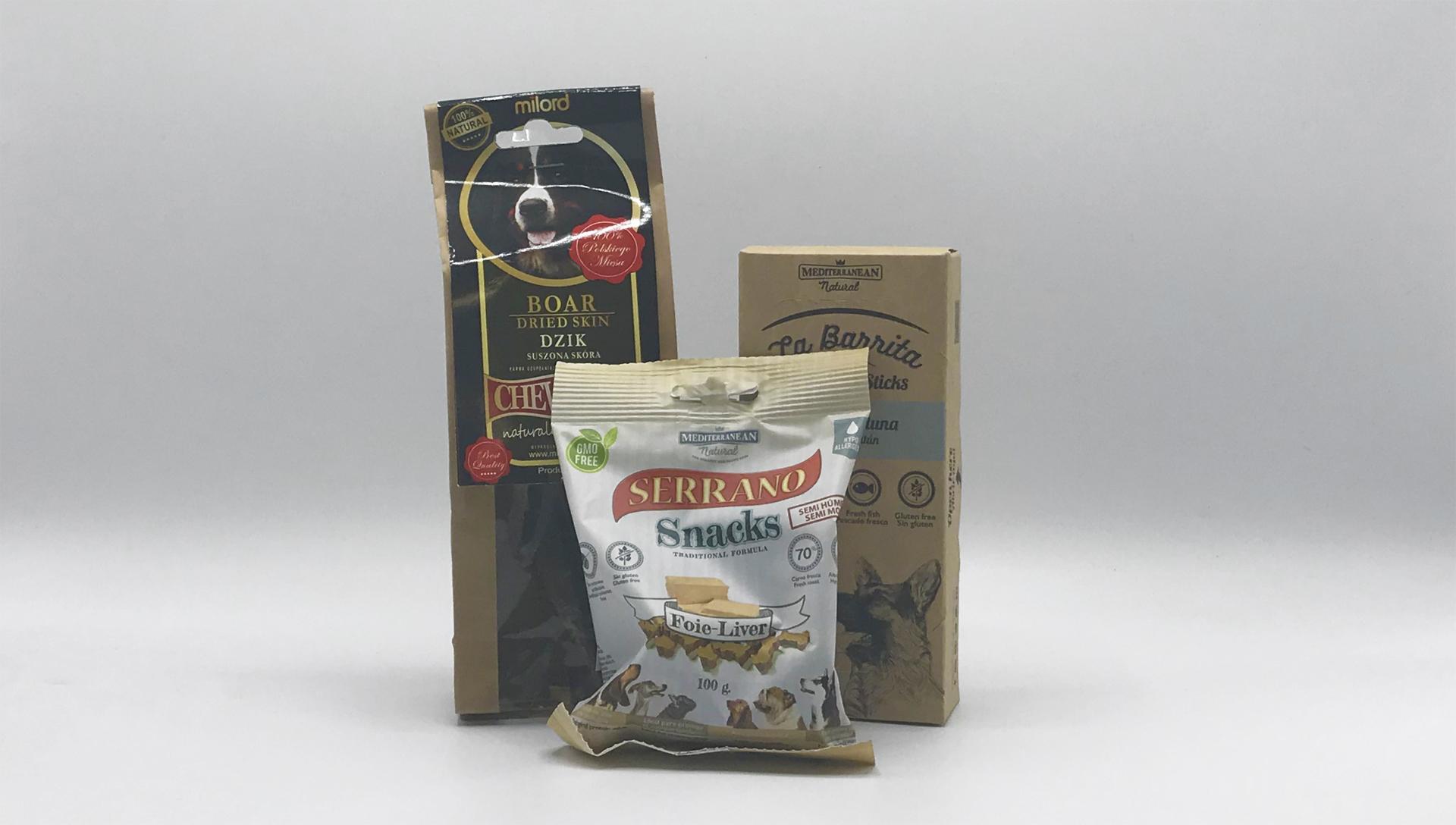 Serrano Snacks, La Barrita tyčinky, Milord žvýkací pamlsek