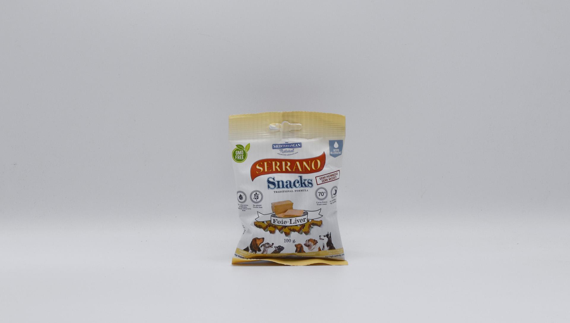 Serrano Snacks husí játra