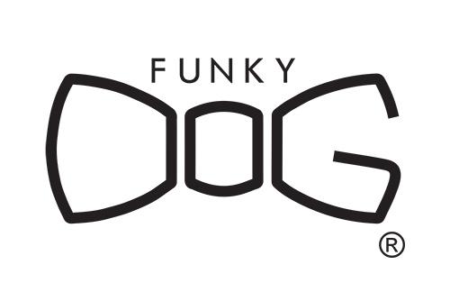 funky dog logo