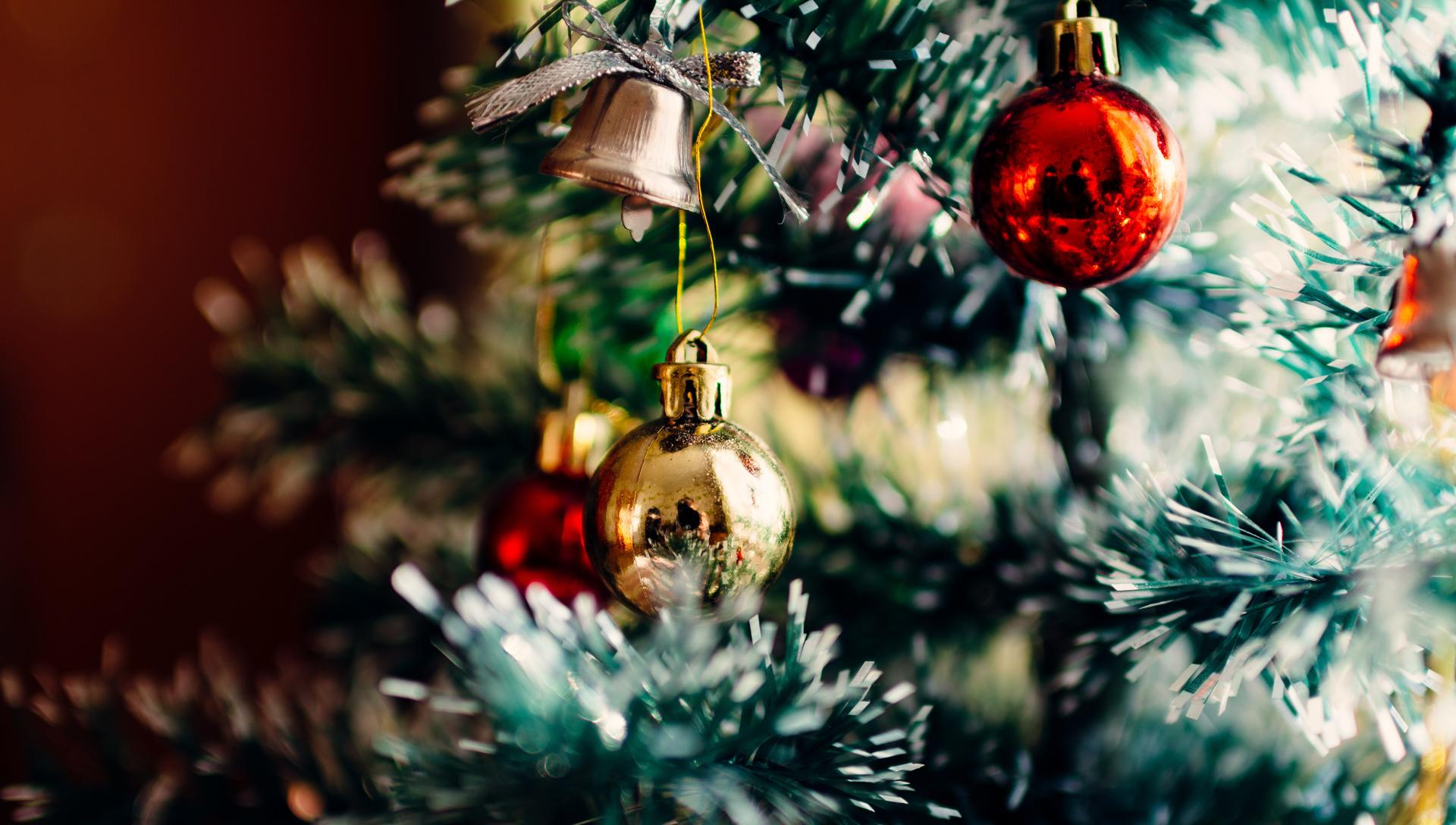 ozdoby na vánočním stromečku