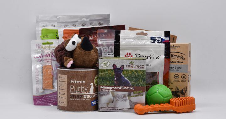 produkty z březnového Dogsie